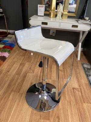 White Modern Barstool for Sale in Linden, NJ
