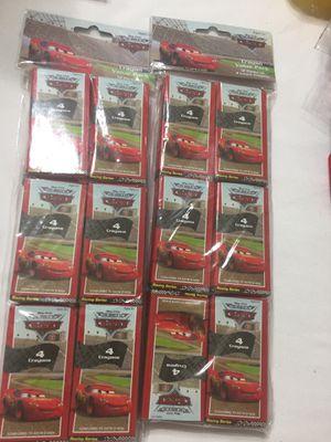 Crayons Pixar cars favors mini packs 24 for Sale in Sanctuary, TX
