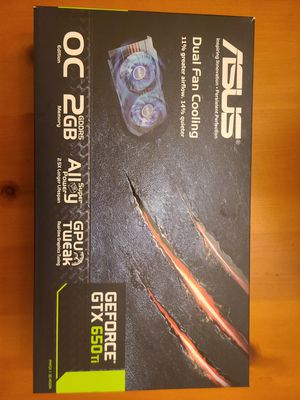 Gtx 650 ti 2gb for Sale in Snohomish, WA
