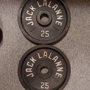 Two 25lb Olympic Weight Plates for Sale in Elma, WA