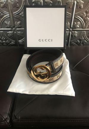 Gucci GG Supreme Belt for Sale in Tampa, FL