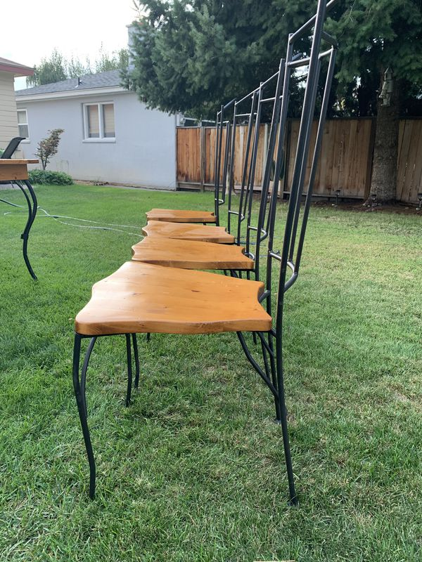 Retro Table with chairs.