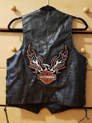 Womens medium leather Motorcycle Jacket and Vest for Sale in Hawthorne, CA