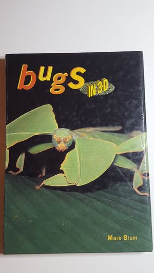 BUGS in 3D - Amazing Book!! for Sale in West Columbia, SC