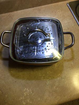 Copper Chef Casserole Pan for Sale in MAGNOLIA SQUARE, FL