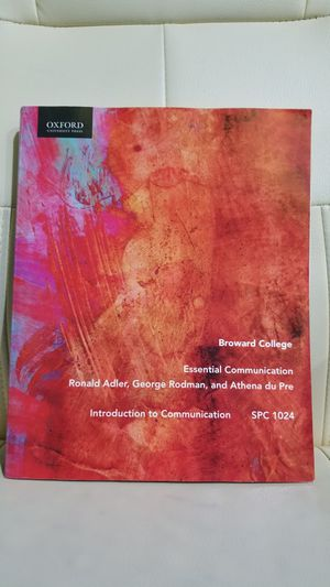 Broward College Essential Communication for Sale in Hollywood, FL