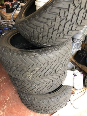 35x12.50 22 fuel tires for Sale in Palm Beach Gardens, FL