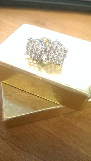 1 ct Princess Cut Diamond Earrings for Sale in The Bronx, NY