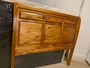 Queen bed frame and Box spring for Sale in Springfield, MA