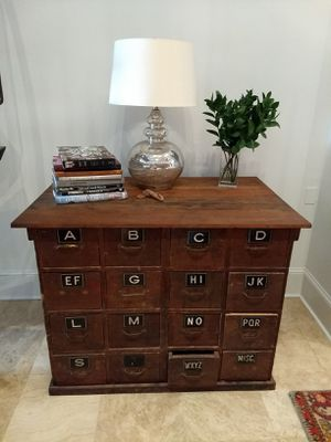 Antique printers cabinet for Sale in Philadelphia, PA