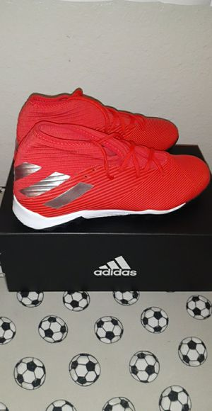 Brand new messi adidas nemeziz 19.3 soccer turf shoes for Sale in Chino, CA