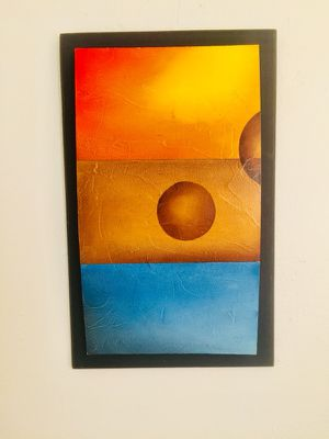 Abstract paintings- Set of 3 for Sale in Miami, FL