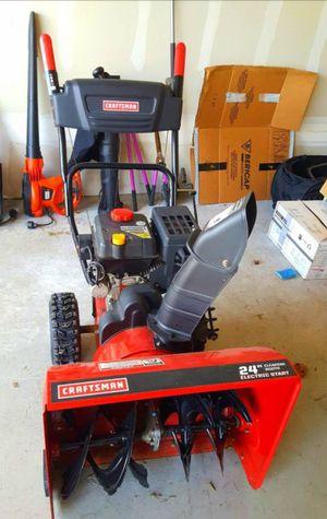 """Craftsman 24"""" snowblower for sale for Sale in Menomonie, WI"""