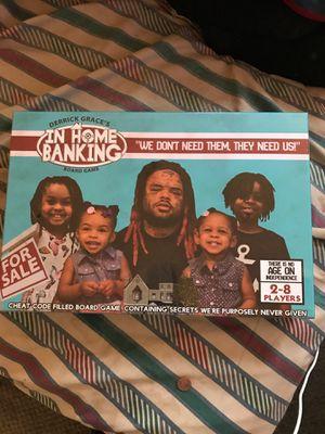 Derrick Grace's in home banking board game for Sale in Philadelphia, PA