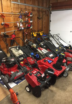 Power Equipment. Lawnmowers. Snowblowers. Chainsaws. Backpack leaf blowers. Power washers. Weedwakers for Sale in Bolingbrook, IL