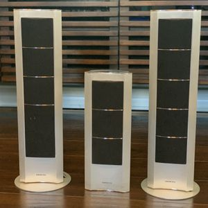 3 Onkyo 100W (ea) Surround Sound Speakers for Sale in Wylie, TX
