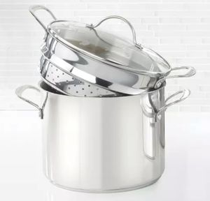 Princess house 6103 stainless steel 8qt stock pot and steamer for Sale in Phoenix, AZ