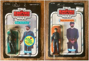 2 1982 Star Wars ESB Bespin Guards for Sale in Houston, TX