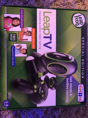 Leap TV game for kids for Sale in Cranberry Township, PA