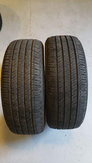 Bridgestone in good condition 2 tires 205 55 16 good tree for Sale in NEW PRT RCHY, FL