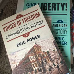 American history Give Me Liberty Bundle Eric Forner for Sale in Corinth,  TX