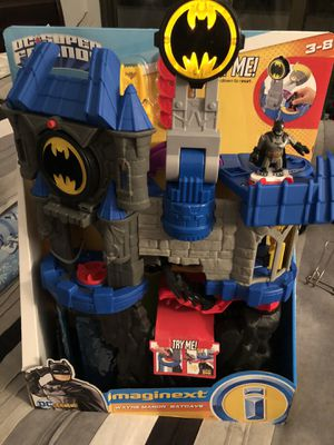 Imaginext Batman Wayne Manor Batcave for Sale in Alexandria, VA
