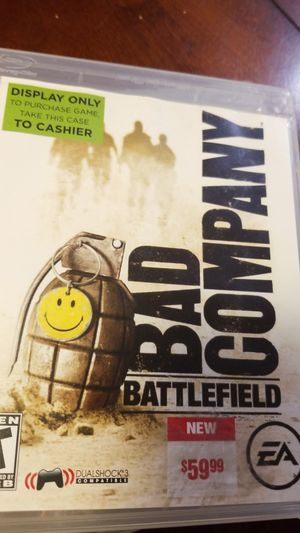 Bad company battlefield PlayStation 3 for Sale in Eagle Lake, FL