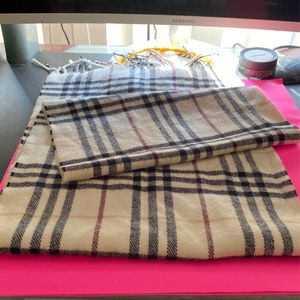 Burberry Scarf Classic Print for Sale in Downey, CA