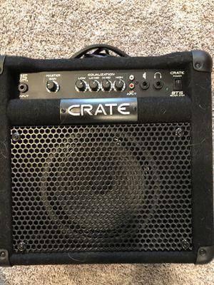 Crate BT15 bass guitar practice amp for Sale in Mt. Juliet, TN