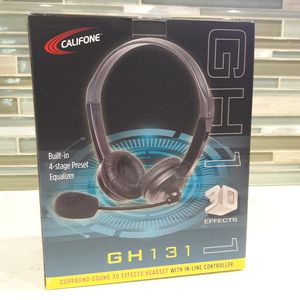 USB/aux Headphone and mic for Sale in Chatsworth, CA