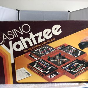 Casino Yahtzee Board Game for Sale in Englewood, NJ