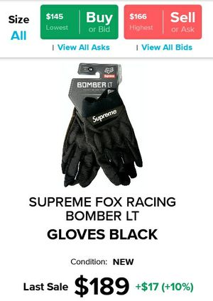 Supreme Fox Racing Gloves for Sale in Los Angeles, CA