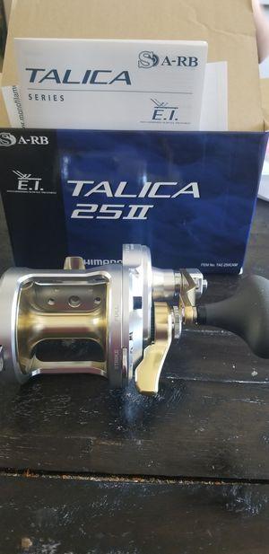 Shimano Talica 25ii 2 Speed for Sale in Glendora, CA