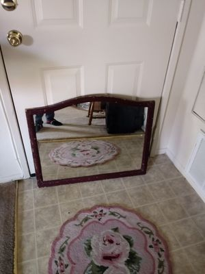 """Old wall hanging mirror 31"""" x 25"""" for Sale in Palmdale, CA"""