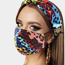 Headband with matching mask for Sale in Beverly Hills, CA