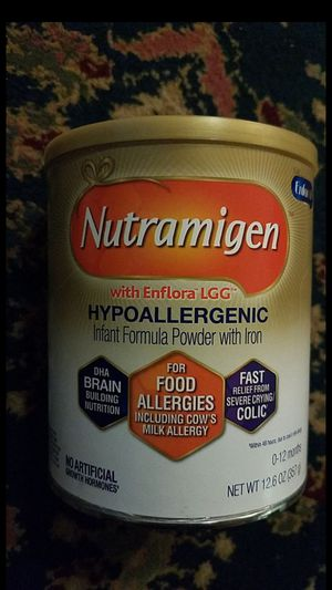 Brand new unopened nutramigen 12.6 oz can 20 each for Sale in Houston, TX