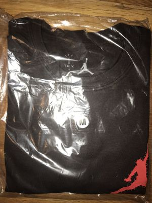 Travis Scott Air Jordan T shirt size M for Sale in Randolph, MA