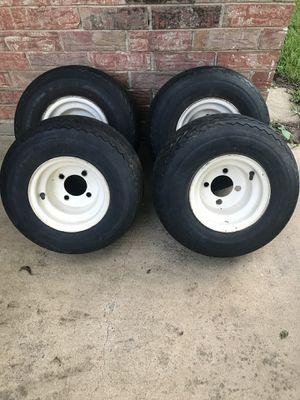Golf cart wheels&tires for Sale in Alexandria, LA