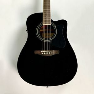 Used Ibanez V70CE-BK Acoustic Guitar Black for Sale in Clayton, NC