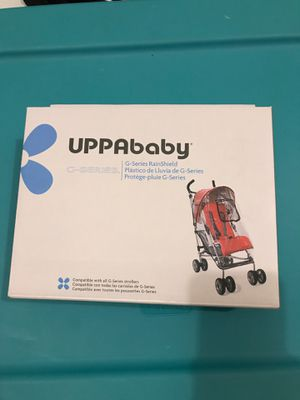 Uppababy GSeries Rainshield for Sale in Hopkinton, MA