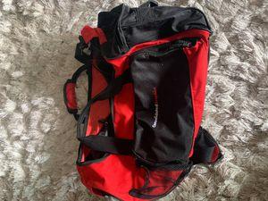 Duffle bag - black/red for Sale in Woodside, CA