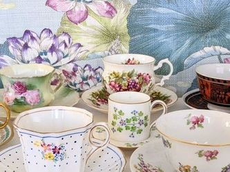 World Tea Cup Sets Saucer France England Japan China Prussia Greece for Sale in Los Angeles,  CA