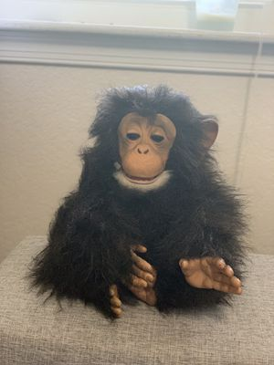 2005 Hasbro FurReal Friends CUDDLE CHIMP Monkey Chimpanzee Interactive Read Desc for Sale in Virginia Beach, VA