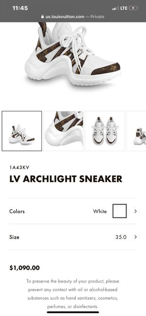 Louis Vuitton Archlight Sneakers for Sale in Chicago, IL