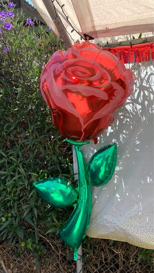 5' foot Rose balloons (4) Available for Sale in Pomona, CA