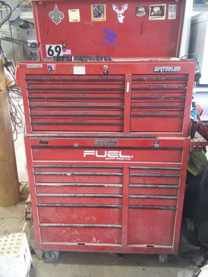 Tool box and milwaukee power tools for Sale in Tampa, FL