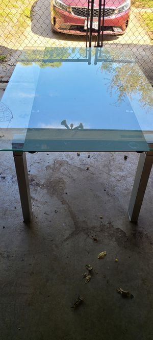 Dining/Kitchen Glass Table for Sale in Austin, TX
