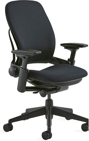 Steelcase Leap Fabric Chair, Black At Van Nuys for Sale in Los Angeles, CA