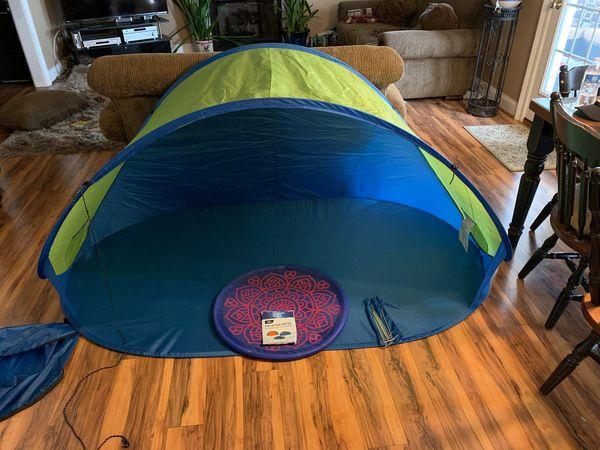 Pop- Up Sun Shelter