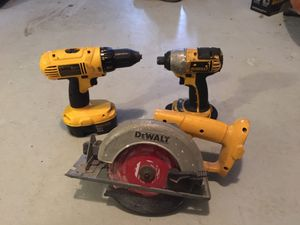 Dewalt 18v tools for Sale in Plymouth, MA